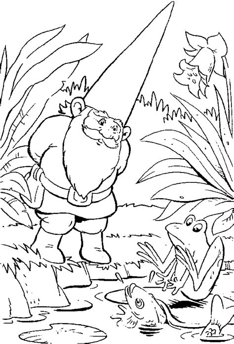 david the gnome coloring pages coloringpagesabc com