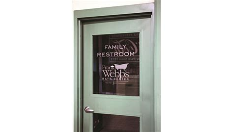 Green Glass Door by Fenway Park Restrooms Get New Look Thanks To F W Webb