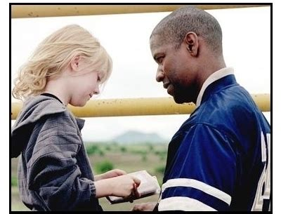 denzel washington dakota fanning on