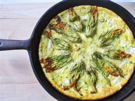 frittata con fiori di zucca ricette frittata di fiori di zucca foto ricette pourfemme