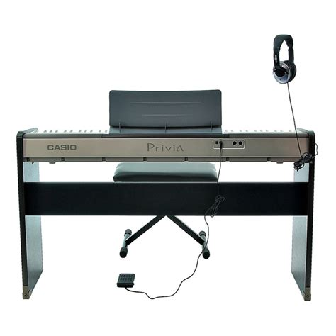 casio keyboard stand and bench casio privia px 120 piano stand and bench at gear4music com