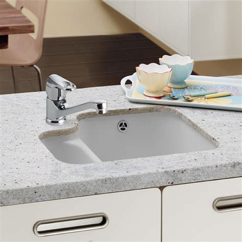 undermount ceramic kitchen sink villeroy and boch cisterna 60b ceramic undermount sink