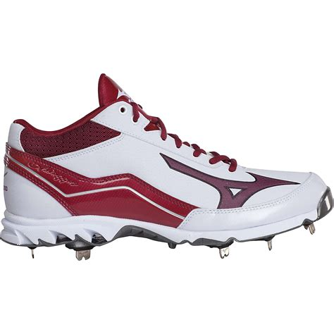baseball shoes mizuno s 9 spike swagger mid metal baseball cleats ebay