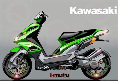 Kawasaki Scooters by I Moto Kawasaki Gpz125 Scooter