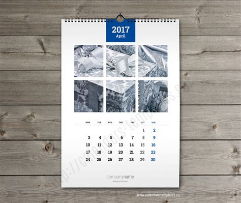 wall calendar a3 printable photo yearly monthly