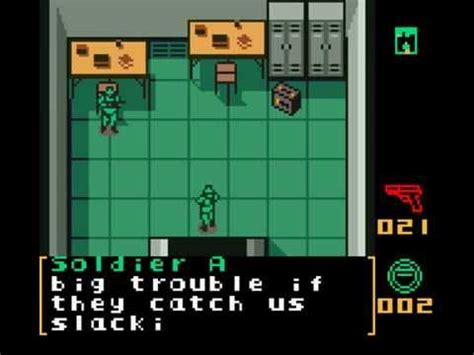 metal gear solid gameboy color metal gear solid gbc gameboy color walkthrough stage