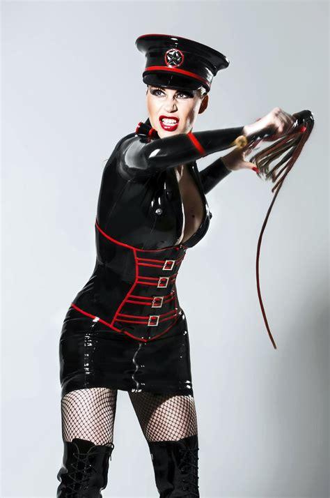 Leather Femdom Latex Mistress Leather Dominatrix