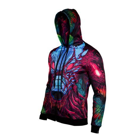 Jaket Hoodie Sweater Counter Strike valve store csgo hyper beast zip hoodie