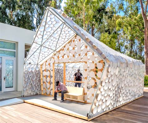 low cost tiny homes backyard bi h ome is a tiny low cost house with a light