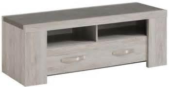 meuble tv en couleur bois gris contemporain 135cm malone