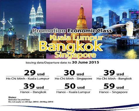 airlines cheap flights to singapore bangkok kuala lumpur