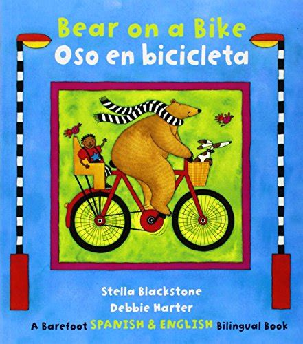 bear on a bike oso en bicicleta english spanish bilniugual bk bici tienda online