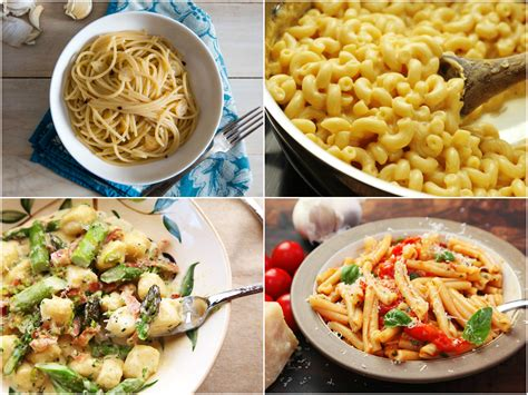 easy pasta recipes 21 quick pasta recipes for simple weeknight meals