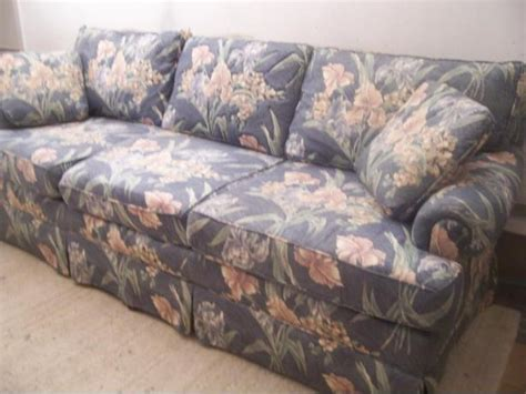 delivery available comfy floral sofa for sale