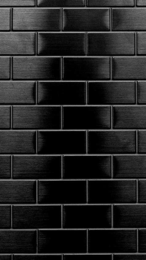black bricks oboi fondos de pantalla de iphone fondo