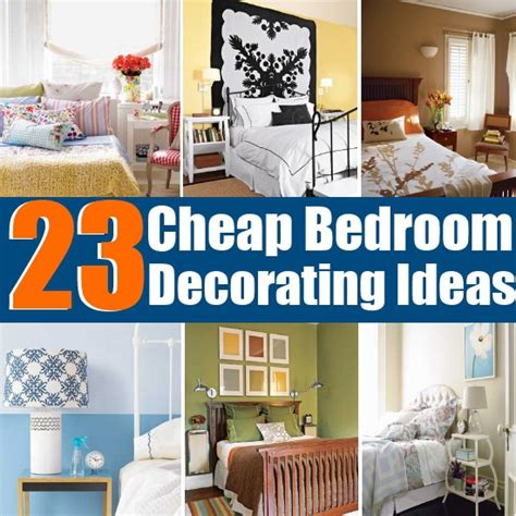 bedroom diy decorating ideas 23 cheap and easy bedroom decorating ideas diy home things