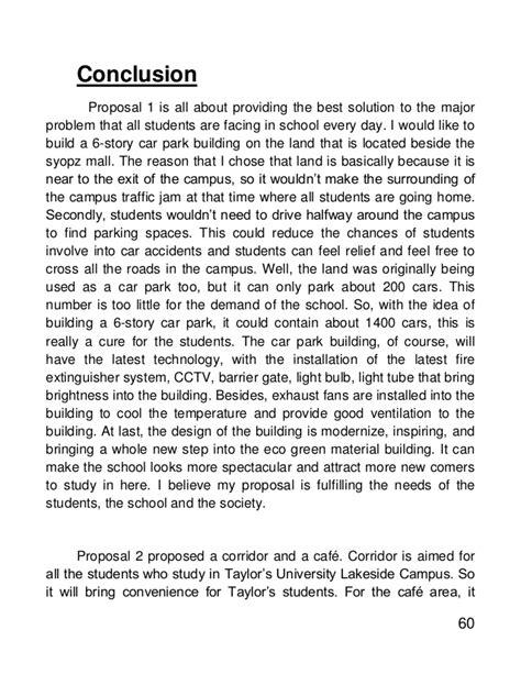 design proposal conclusion ici proposal