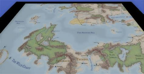 faerun map kamals faerun overland map the neverwinter vault