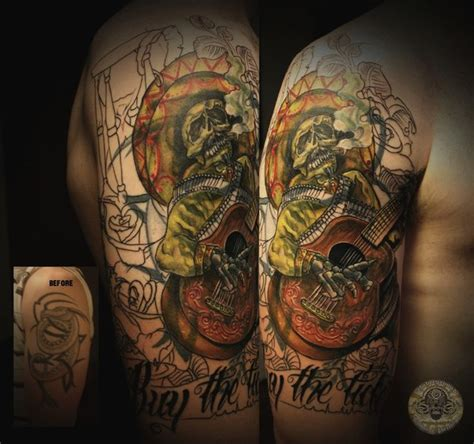 mariachi tattoo designs sleeve mexican mariachi by 2face on deviantart