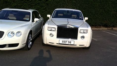 bentley phantom white white rolls royce phantom bentley spur by midlands limos