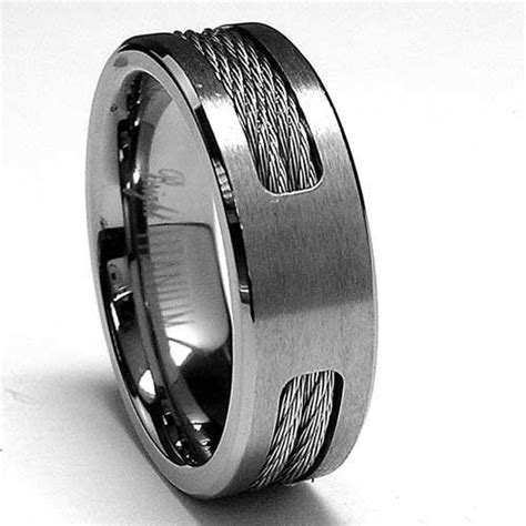 mens wedding bands filigree in middle search
