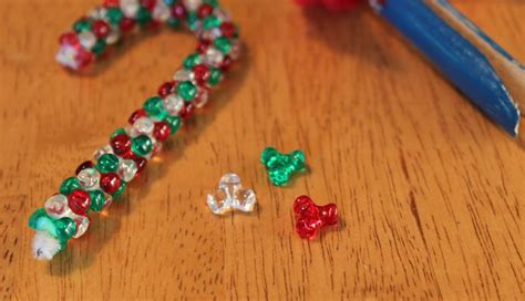 easy beaded ornaments easy ornaments to make frugal for boys and