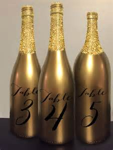 How To Decorate Champagne Glasses 25 Best Ideas About Glitter Wine Bottles On Pinterest