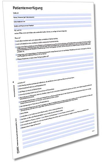 muster patientenverf 252 gung im formular set downloaden zweckform