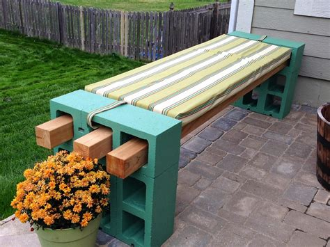 cinder block outdoor bench the decorative cinder blocks ideas for decor home