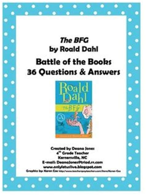 quiz questions books 1000 images about the bfg novel study on pinterest the
