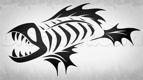 fish bones tattoo tattoo collection