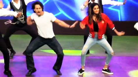 tutorial dance on ding dang tiger shroff and nidhi agrawal dance on ding dang song on