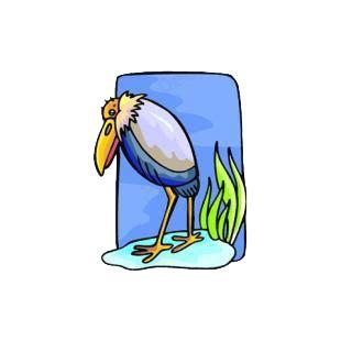pelican boat stickers pelican birds decals decal sticker 5869