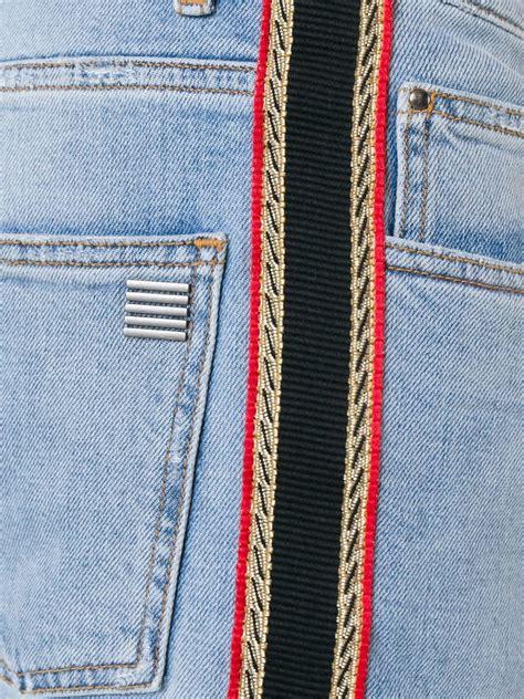 palm angels side stripe jeans  blue  men lyst