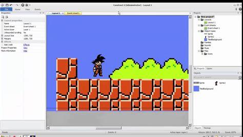 tutorial construct 2 juego plataformas tutoriales construct 2 animar juego de plataformas