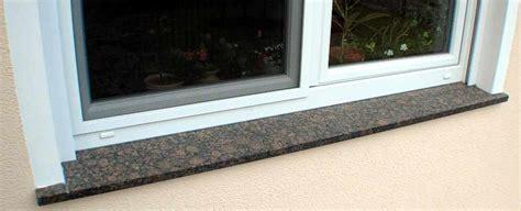 fensterbrett innen einbauen fensterbank naturstein granit marmor sandstein
