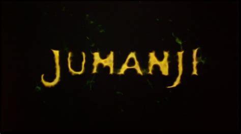 jumanji movie genre jumanji 1995 dvd movie menus