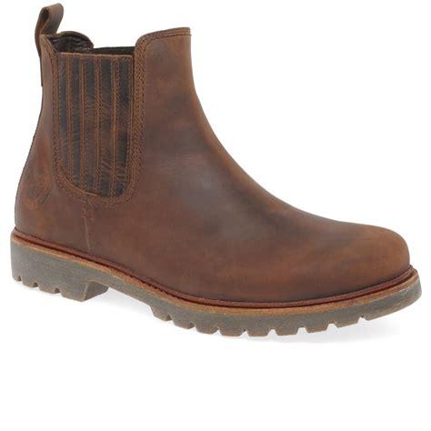 panama bryan mens waterproof chelsea boots charles