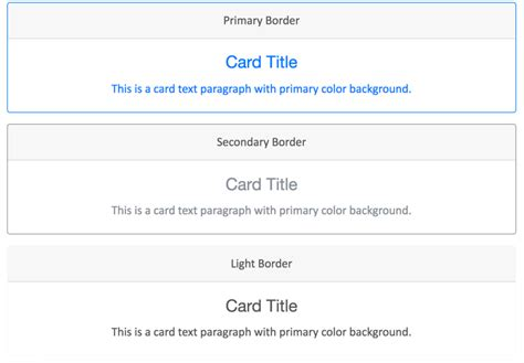 bootstrap layout cards bootstrap 4 cards tutorial 187 webnots