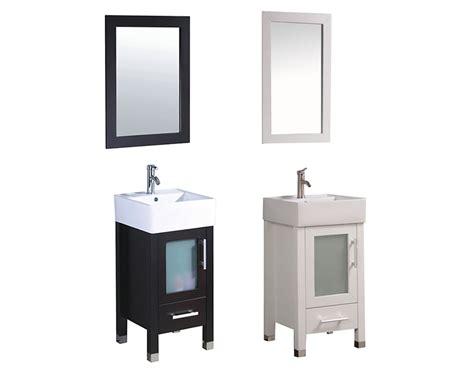 18 bathroom vanity with sink malta 18 quot single sink bathroom vanity set