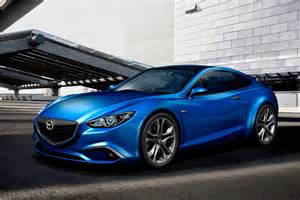 mazda 6 to go sporty with swoopy coupe version pictures