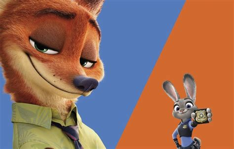 Zootopia Iphone All Hp wallpaper traffic guard teamwork bulletproof vest nick blue rabbit judy