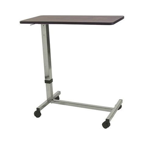 hospital bed tables adjustable rolling wood overbed table lowest price