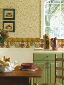 3 colors option for country kitchen wallpaper modern