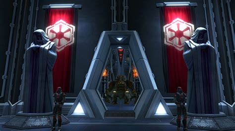 throne room wars swtor fenmoris imperial sanctuary of freedon nadd tor decorating