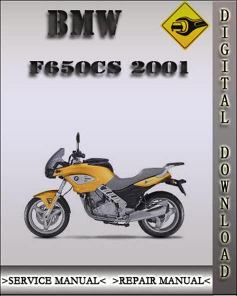 2001 Bmw F650cs Factory Service Repair Manual Tradebit