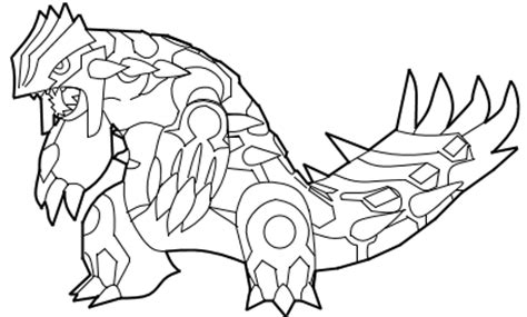 pokemon coloring pages primal groudon mega groudon coloring coloring pages