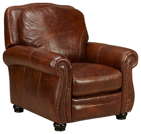 traditional leather recliner simon li traditional leather recliner medium brown
