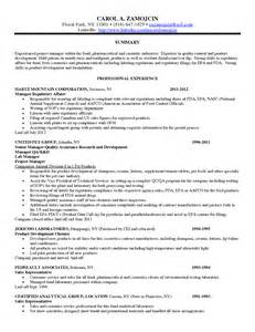 resume cover letter regulatory affairs writinggroups390