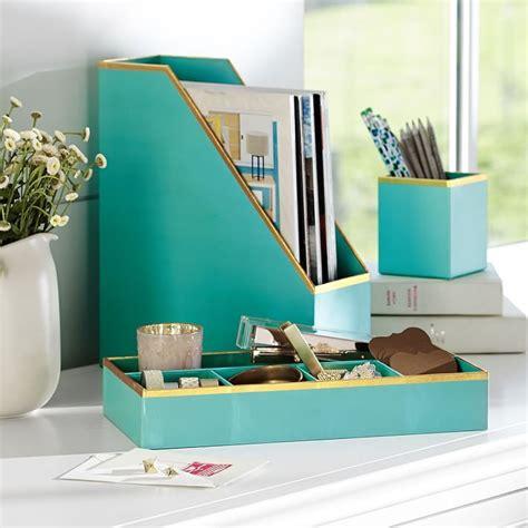 ideas  office desk accessories  pinterest gold office supplies work desk